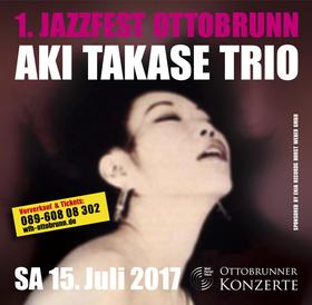 Bild: 1. Jazzfest Ottobrunn - AKI TAKASE TRIO