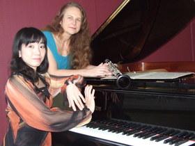 Bild: Bad Saarower Kammermusik Konzerte - Prof. Susanne Erhardt (Klarinette), Naoko Fukomoto (Klavier)