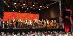 Bild: Klassik Open Air - Niederrheinische Sinfoniker