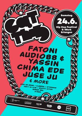 Bild: EAT THIS HipHop Festival #3 - mit u.a. Fatoni, Audio 88 & Yassin, Juse Ju, Chima Ede u.v.m.