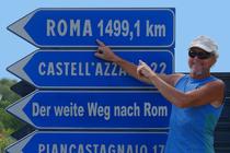 Bild: Mein weiter Weg nach Rom - Premiere!