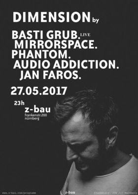 Bild: Dimension feat. Basti Grub (live) - mit Basti Grub, Mirrorspace, Phantom, Audio Addiction, Jan Faros