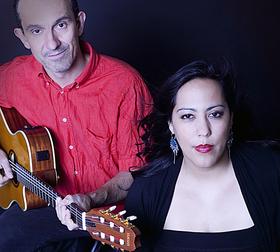 Bild: Voice & Guitar - mit Ilka Vasquez Dautermann und Clemens Loos