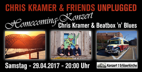 Bild: Chris Kramer & Friends Unplugged - Homecoming-Konzert