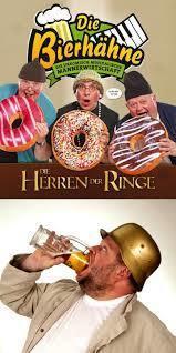 Bild: Die Bierhähne-Die Herren der Ringe