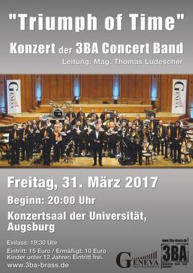 Bild: Konzert der 3BA Concertband in Augsburg