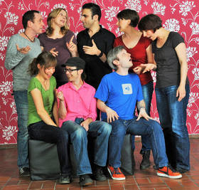 Bild: Improtheater Stuttgart - Die Premieren-Feier