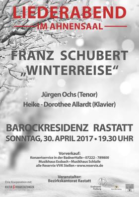 Bild: Liederabend im Ahnensaal - Franz Schubert - Winterreise