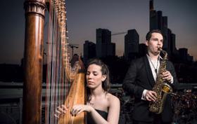 Bild: Schlosskonzerte Bad Arolsen 2017 - 4. Schlosskonzert: Jerusalem Duo - Harfe und Saxophon