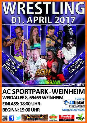 Bild: ACW Pro German Wrestling -  2017