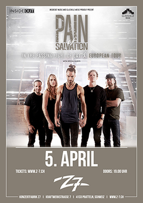 Bild: PAIN OF SALVATION