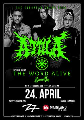 Bild: ATTILA - The European Chaos Tour