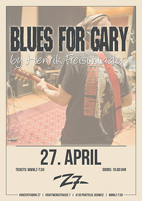 Bild: BLUES FOR GARY BY HENRIK FREISCHLADER