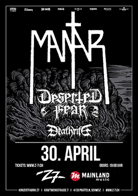Bild: MANTAR - Ode to the Flame Tour 2017