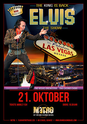 Bild: ELVIS THE SHOW - One Night in Vegas with RIO
