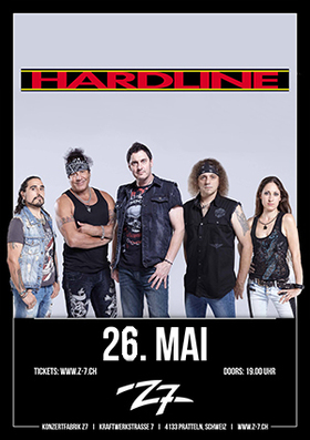 Bild: HARDLINE - With the Voice of the Axel Rudi Pell band