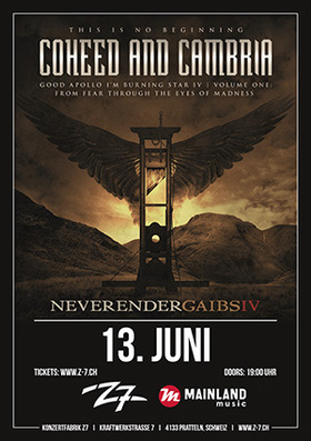 Bild: COHEED AND CAMBRIA - Neverender GAIBSIV