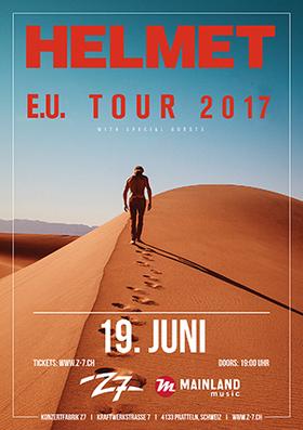 Bild: HELMET - E.U. Tour 2017