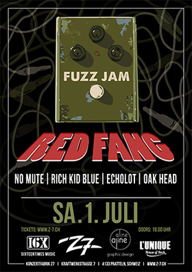 Bild: RED FANG - Fuzz Jam