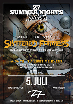 Bild: MIKE PORTNOY´S SHATTERED FORTRESS - Z7 SUMMER NIGHTS INDOOR