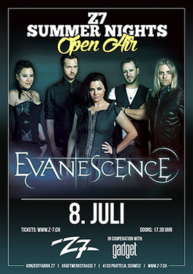 Bild: EVANESCENCE - Z7 SUMMER NIGHTS OPEN AIR