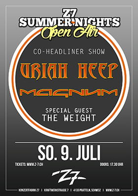 Bild: URIAH HEEP - MAGNUM - Z7 SUMMER NIGHTS OPEN AIR