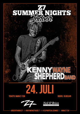 Bild: KENNY WAYNE SHEPHERD BAND - Z7 SUMMER NIGHTS INDOOR