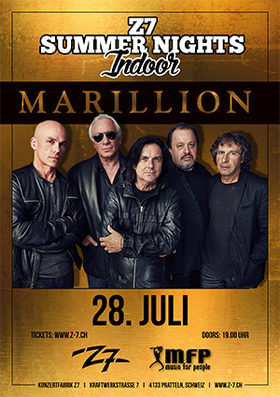 Bild: MARILLION - F.E.A.R. – 2017 - Z7 SUMMER NIGHTS INDOOR
