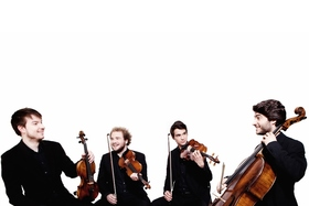 Bild: Konzert IV: Kathrin Christians (Flöte), Goldmund Quartett & Jon Diven (Kontrabass)