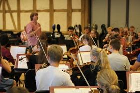 Bild: Mozart - Mahler - Yinon - Suk: Deutsche Streicherphilharmonie (Generalprobe)