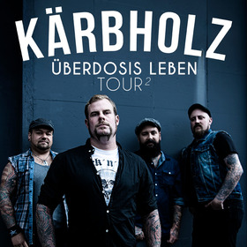 Bild: Kärbholz - Überdosis Leben Tour 2 - 2017