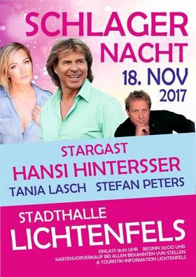 Bild: Schlagernacht mit Hansi Hinterseer und Stefan Peters &Tanja Lasch
