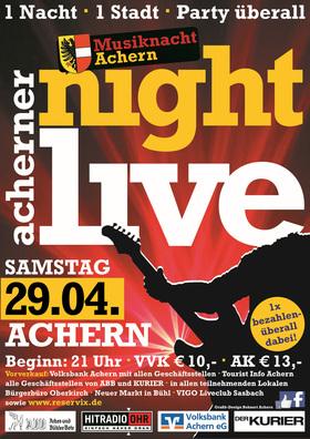 Bild: Acherner Nightlive - Musiknacht Achern