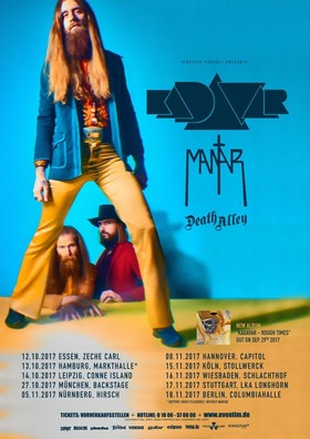 KADAVAR - plus Death Alley and special guest