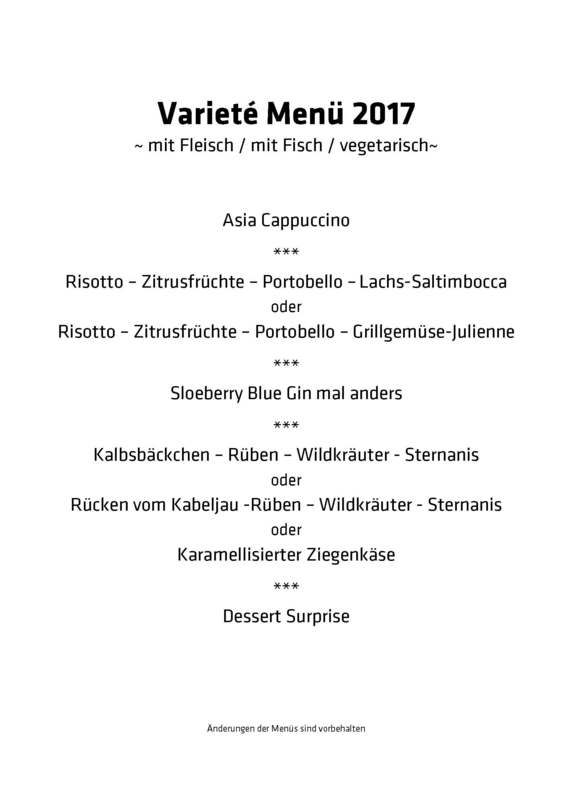 Rantastic-Varieté 2017 - Varieté mit Menü (2)