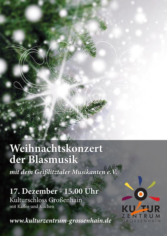 Weihnachtskonzert der Blasmusik