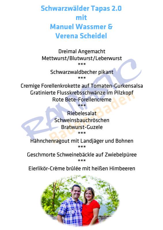 Captains Dinner - Schwarzwälder Tapas in der Almhütte (2)