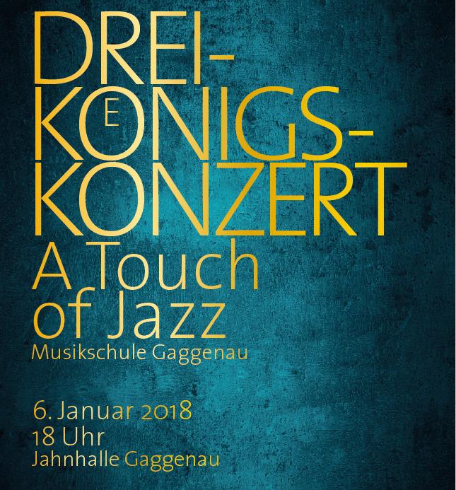 Dreikönigskonzert - A Touch of Jazz (1)