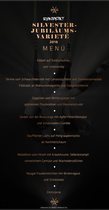 Jubiläums-Varieté 2018 - Silvestervarieté mit 7-Gang-Menü (2)