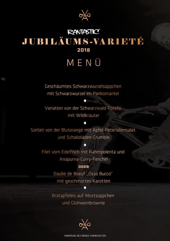 Jubiläums-Varieté 2018 - Varieté mit Menü (2)