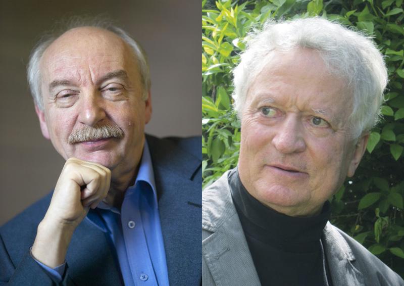 Prof. Dr. Gerd Gigerenzer © Dietmar Gust, Dr. Manfred Osten © privat