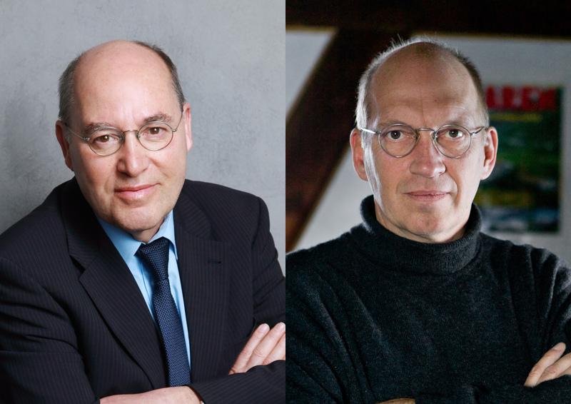 Dr. Gregor Gysi © JoachimGern, Dr. Jürgen Neffe © Dirk Bleicker
