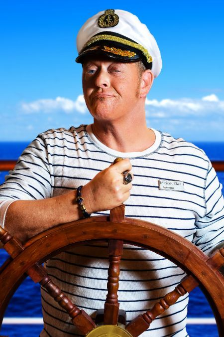 "Michael Eller - ""UNTER KREUZFAHRERN - Captain Comedy legt ab!"" (1)"