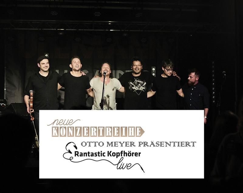 Otto Meyer präsentiert Rantastic-Kopfhörer live: Stephan Ullmann und Vorband Søren Jordan's Blues Conglomerate (1)