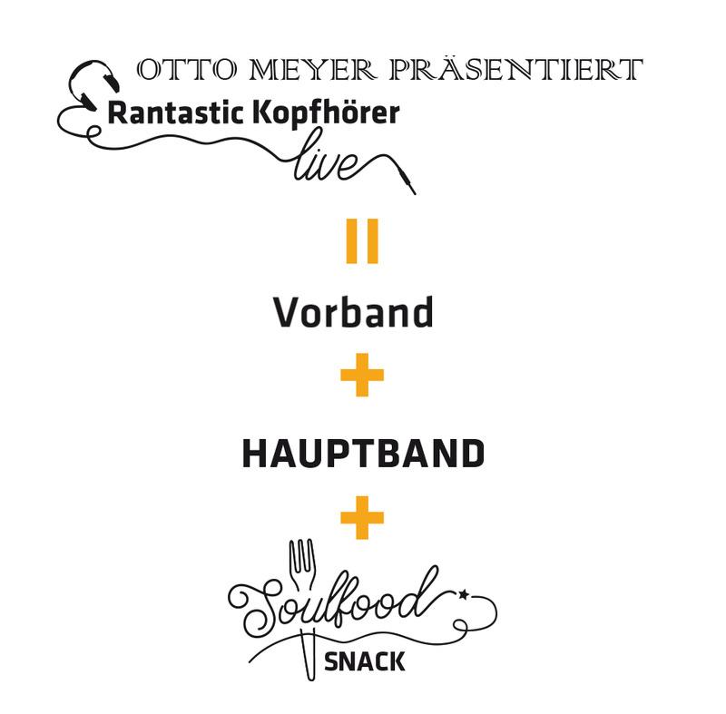 Otto Meyer präsentiert Rantastic-Kopfhörer live:  Radio Hats und Vorband SMAF (2)