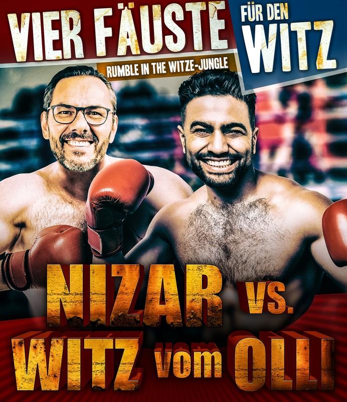 """NIZAR vs. WITZ vom OLLI - """"Vier Fäuste für den Witz"""" (1)"""