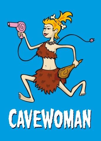 Cavewoman - Theaterstück mit Konstanze Kromer (1)