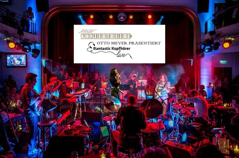 Otto Meyer präsentiert Rantastic-Kopfhörer live - The News Symphonic und Vorband Uli Brodersen Band feat. Ralf Gustke on drums (1)