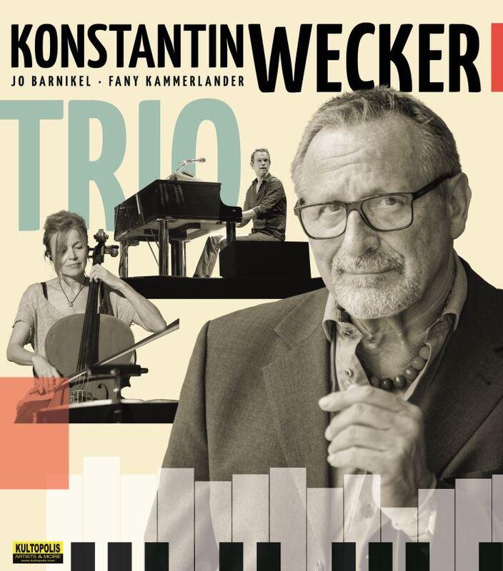 Konstantin Wecker - Trio mit Jo Barnikel und Fany Kammerlander