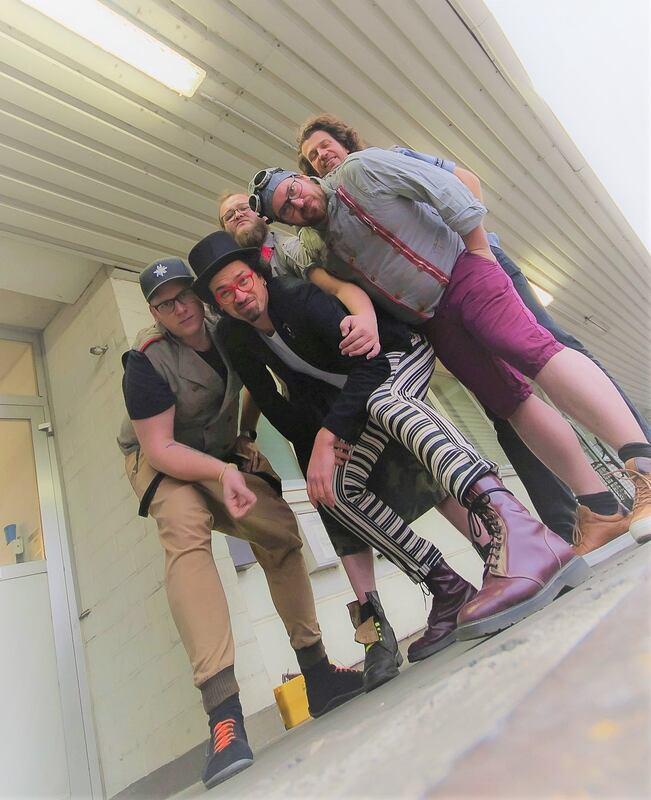 "Kellerkommando - ""360 Grad Schleudergang"" - Tour 2019 // Support: Cobra Express"